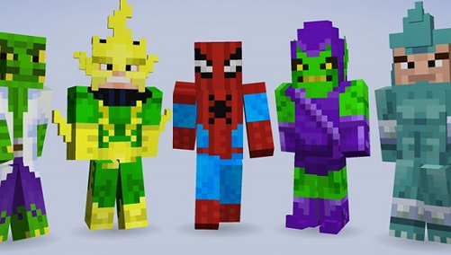 Minecraft XboxPlaystation Skin Packs - Skins minecraft baixar gratis