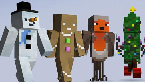 Minecraft Xbox Skin Pack